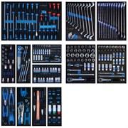 Набор инструмента для тележки King Tony 286 предметов в 13 ложементах 934-010MRVD
