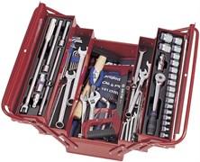 """Универсальный набор инструмента King Tony в раскладном ящике, 1/2""""DR, 88 предметов 902-089MR01"""