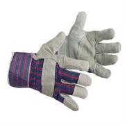 Спилковые перчатки Радуга Ампаро 419401