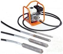 Механический глубинный вибратор Belle BGA 68 с гибким валом