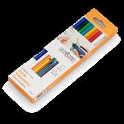 Цветные клеевые стержни Steinel 7x150мм 96г, 16шт