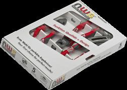 Комбинированный набор ручного инструмента 3 предмета NWS 789