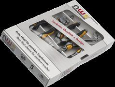Комбинированный набор ручного инструмента 3 предмета NWS 788