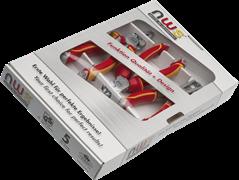 Комбинированный набор инструментов VDE 1000В 3 предмета NWS 784