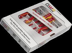 Комбинированный набор инструментов VDE 1000В 4 предмета NWS 786