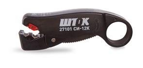 Съемник изоляции ШТОК СИ-12К (стриппер) для коаксиального кабеля, до 12мм 27101