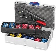 Набор кабельных наконечников с инструментом для опрессовки KNIPEX KN-979000
