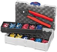 Набор кабельных наконечников с инструментом для опрессовки KNIPEX KN-979001
