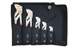 Набор из 5-ти клещевых ключей в сумке-скрутке KNIPEX KN-001955S4