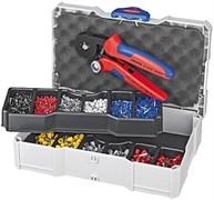 Набор кабельных наконечников с инструментом для опрессовки KNIPEX KN-979009