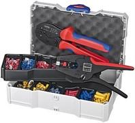 Набор кабельных наконечников с инструментом для опрессовки KNIPEX KN-979022