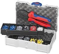 Набор кабельных наконечников с инструментом для опрессовки KNIPEX KN-979023
