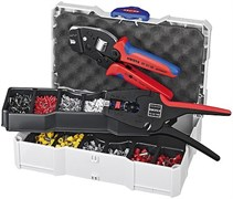 Набор кабельных наконечников с инструментом для опрессовки KNIPEX KN-979024