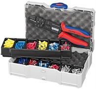 Набор кабельных наконечников с инструментом для опрессовки KNIPEX KN-979025
