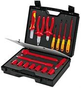 Набор изолированных инструментов в чемодане, 17 предметов KNIPEX KN-989911