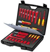 Набор изолированных инструментов в чемодане, 26 предметов KNIPEX KN-989912