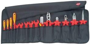 Набор изолированных инструментов в планшете, 15 предметов KNIPEX KN-989913
