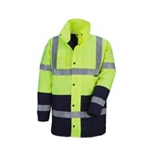 Куртка PARKA HV, XXL, цвет желтый с синими вставками Kapriol 31083