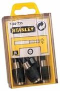 Держатель для бит QUICK 1/4 НЕХ 5шт. Stanley 1-68-733