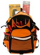 Набор электромонтажника ШТОК №1 в рюкзаке, 50шт 07025-02