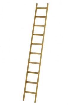 Деревянная приставная лестница Zarges Z600 10 ступеней 40010 - фото 100022