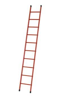 Приставная диэлектрическая лестница Zarges Z600 14 ступеней 41255 - фото 100063
