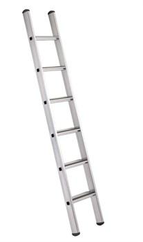 Анодированная приставная лестница Zarges Z600 6 ступеней 41356 - фото 100064