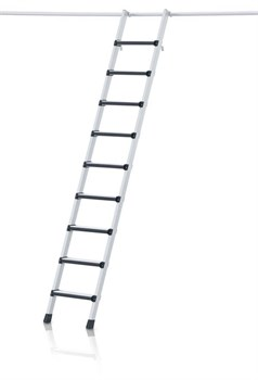 Стеллажная лестница Zarges Z600 с парой крюков, 16 ступеней 41086 - фото 100106