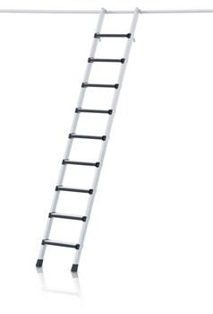 Стеллажная лестница Zarges Z600 с парой крюков, 9 ступеней 41405 - фото 100111