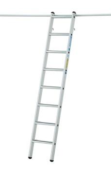Стеллажная лестница Zarges Z600 с парой крюков, 12 ступеней 1041362 - фото 100128