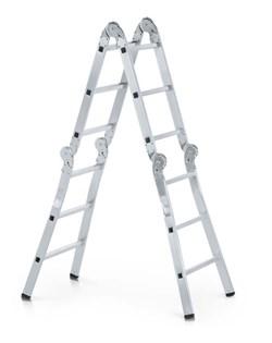 Шарнирная лестница трансформер Zarges Z600 4х4 40906 - фото 100155