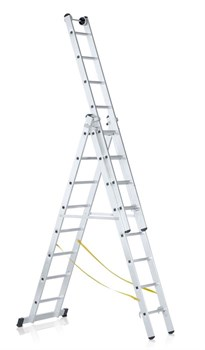 Алюминиевая трехсекционная лестница Zarges Z600 3x10 41522 - фото 100158