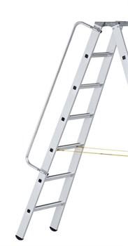 Алюминиевый поручень Zarges для приставных и стеллажных лестниц 41960 - фото 100456