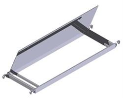 Откидная площадка Zarges Z600 для вышек с наклонными лестницами, 42860 - фото 100466