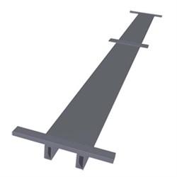 Промежуточный настил Zarges для вышек длиной 1,8м, 42963 - фото 100527