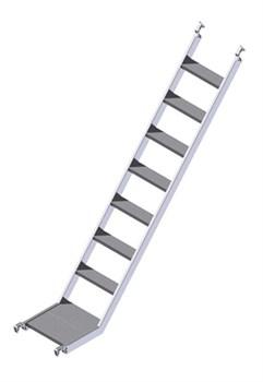 Лестница наклонного подъема Zarges 42961 - фото 100816