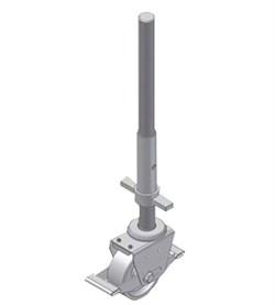 Поворотный ролик Zarges Z600 со стопором, диаметр 125мм 42973 - фото 100871