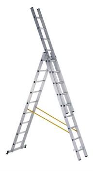 Алюминиевая трехсекционная лестница Zarges Z200 3x10 44840 - фото 100912