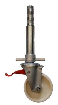 Направляющий ролик с домкратом Zarges, диаметр 150 мм 44454 - фото 100977