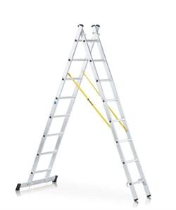 Двухсекционная многоцелевая лестница Zarges Z300 2x14 42574 - фото 101008