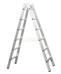 Двухсторонняя алюминиевая стремянка Zarges Z300 2x7 42407 - фото 101063