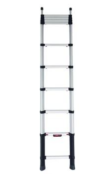 Анодированная телескопическая лестница Zarges Z300 12 ступеней 40322 - фото 101099