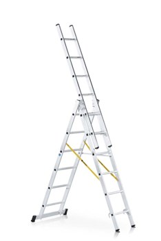 Алюминиевая трехсекционная лестница Zarges Z300 3x7 42537 - фото 101146
