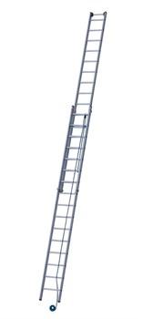 Двухсекционная лестница с тросовой тягой Zarges Z500 2х18 41298 - фото 101193