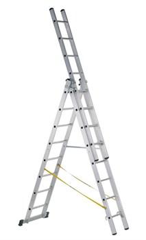 Алюминиевая трехсекционная лестница Zarges Z500 3x8 41538 - фото 101401