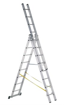 Алюминиевая трехсекционная лестница Zarges Z500 3x10 41540 - фото 101402