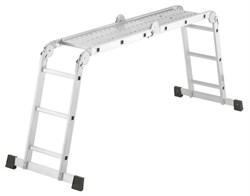 Алюминиевая лестница трансформер Hailo ProfiStep Combi 4х3 7412-031 - фото 101443