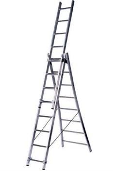 Алюминиевая трехсекционная лестница Centaure ВT3 3х10 263310 - фото 101756