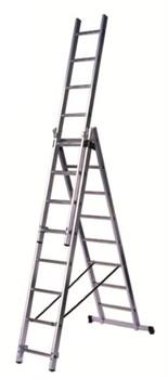 Алюминиевая трехсекционная лестница Centaure WT3 3х8 223308 - фото 101768
