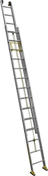 Двухсекционная выдвижная лестница Centaure C2 NEW с тросом 2х10 414410 - фото 101794